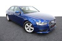 2012 AUDI A4 2.0 TDI SE TECHNIK 4d 134 BHP £9995.00