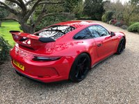 USED 2017 67 PORSCHE 911 4.0 GT3 2d 494 BHP
