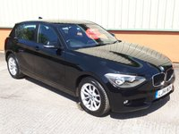 2014 BMW 1 SERIES 2.0 118D SE Sport 5d AUTO 141 BHP £9995.00