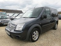2011 FORD TRANSIT CONNECT 1.8 T200 LIMITED SWB LOW ROOF 110 BHP 68974 MILES NO VAT £6995.00