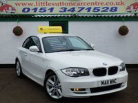 USED 2011 11 BMW 1 SERIES 2.0 118D SPORT 2d 141 BHP £30 ROAD TAX, DIESEL COUPE, F/S/H