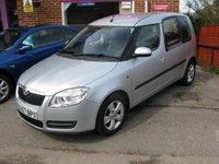 2008 SKODA ROOMSTER 1.6 2 16V 5d AUTO 103 BHP £3695.00