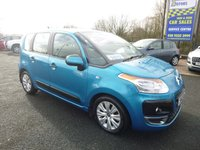 USED 2012 12 CITROEN C3 PICASSO 1.6 PICASSO VTR PLUS HDI 5d 90 BHP