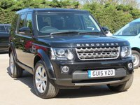 USED 2015 15 LAND ROVER DISCOVERY 3.0 SDV6 SE TECH 5d AUTO 255 BHP SATELLITE NAVIGATION, FULL LEATHER + HEATED SEATS