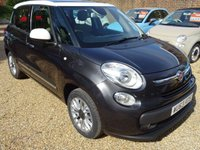 USED 2013 63 FIAT 500L 1.6 MULTIJET LOUNGE 5d 105 BHP Full Service History + Just Serviced by ourselves, Minimum 9 months MOT, One Previous Owner, 6 Speed Gearbox, Excellent fuel economy! Only £30 Road Tax! Diesel