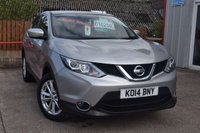 USED 2014 14 NISSAN QASHQAI 1.5 DCI ACENTA 5d 108 BHP GREAT VALUE FOR MONEY !!!