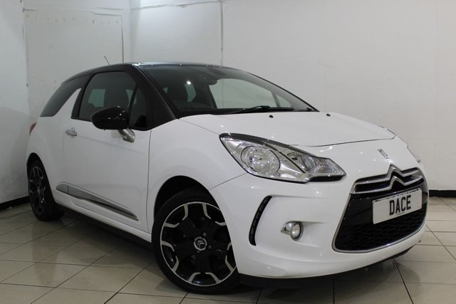 View our 2011 61 CITROEN DS3 1.6 E-HDI DSTYLE PLUS 3DR 90 BHP