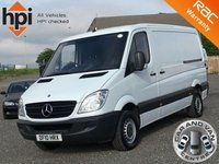 2010 MERCEDES-BENZ SPRINTER 2.1 313 CDI MWB LOW ROOF £6990.00