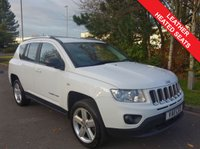 2011 JEEP COMPASS 2.1 CRD LIMITED 4WD 5d 161 BHP £6990.00