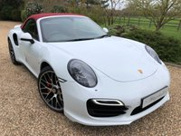 2015 PORSCHE 911 [991] 3.8 TURBO PDK 2d AUTO 520 BHP £SOLD