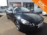 2012 VOLVO S60 2.0 D3 R-DESIGN LUX 4d 134 BHP £9500.00