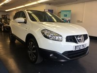USED 2012 12 NISSAN QASHQAI 1.6 N-TEC PLUS 5d 117 BHP GREAT SPEC INCLUDING TOUCH SCREEN SAT NAV, CAMERAS, FULLY PREPARED FOR SALE INCLUDING FULL SERVICE AND NEW MOT