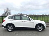 2011 BMW X3 2.0 XDRIVE20D SE 5d 181 BHP £13995.00