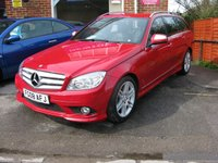2008 MERCEDES-BENZ C CLASS 1.8 C180 KOMPRESSOR SPORT 5d AUTO 155 BHP £SOLD