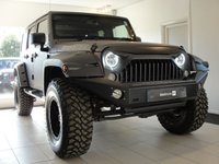 2015 JEEP WRANGLER 2.8 CRD OVERLAND UNLIMITED 4d AUTO 197 BHP JEEPSTER SPECIAL BUILD £34994.00