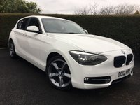 2012 BMW 1 SERIES 2.0 116D SPORT 5d 114 BHP MASSIVE SPEC, FULL BMW SERVICE HISTORY £SOLD