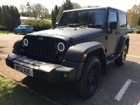 2012 JEEP WRANGLER 2.8 SAHARA CRD 2d AUTO 197 BHP Quilted Leather, Apple Car Play, LED Lights £23994.00