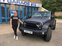 USED 2016 65 JEEP WRANGLER 3.6 V6 Petrol Automatic Unlimited 5 Door with Removable Hard Top and Soft Top Option RESERVED FOR CATHY........Lovely Low Mileage Unlimited Wrangler V6 Auto with Removable Hard Top Panels and Soft Top Option