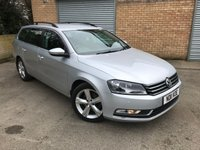 USED 2011 11 VOLKSWAGEN PASSAT 1.6 SE TDI BLUEMOTION TECHNOLOGY 5d CAM BELT CHANGED  ONLY £30 PER YER TAX, CAM BELT CHANGED, SERVICE HISTORY