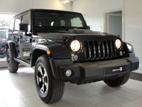 USED 2015 65 JEEP WRANGLER 2.8 CRD BLACK EDITION II 4d AUTO 197 BHP Black Edition is a Limited Edition Wrangler with Removable Hard Top Panels and Soft Top Option. Fully Loaded Specification including Gloss Black Alloy Wheels, Gloss Black Trim, Power Bulge Bonnet, gloss black internal trim to compliment the black leather upholstery.