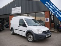 USED 2013 13 FORD TRANSIT CONNECT 1.8 T230 HR VDPF 1d 89 BHP ONE FORMER KEEPER FROM NEW, FULL SERVICE HISTORY, LARGE LOAD AREA