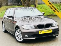 USED 2006 56 BMW 1 SERIES 2.0 120D SE 5d AUTO 161 BHP ANY INSPECTION WELCOME ---- ALWAYS SERVICED ON TIME EVERY TIME AND SERVICED MAINLY BY SAME DEALERSHIP THROUGHOUT ITS LIFE,NO EXPENSE SPARED, KEPT TO A VERY HIGH STANDARD THROUGHOUT ITS LIFE, A REAL TRIBUTE TO ITS PREVIOUS OWNER, LOOKS AND DRIVES REALLY NICE IMMACULATE CONDITION THROUGHOUT, MUST BE SEEN FOR THE PRICE BARGAIN BE QUICK, 6 MONTHS WARRANTY AVAILABLE,DEALER FACILITIES,WARRANTY,FINANCE,PART EX,FIRST TO SEE WILL BUY BARGAIN