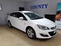 USED 2015 15 VAUXHALL ASTRA 2.0 SRI CDTI S/S 5d 163 BHP * TWO OWNERS * LOW MILES *