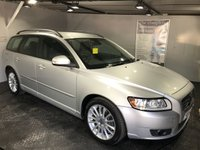 USED 2010 60 VOLVO V50 2.0 D3 SE 5d 148 BHP Full leather upholstery : Heated front seats  :   Climate Control/Air-Conditioning  :   Cruise Control  :   Isofix fittings  : Fully stamped service history   :   Previously sold and serviced by ourselves