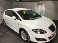USED 2012 12 SEAT LEON 1.6 CR TDI ECOMOTIVE S AC 5d 103 BHP Zero road tax : Bluetooth : Cloth upholstery : 16-inch alloy wheels : Full service and MOT when sold