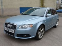 2006 AUDI A4 2.0 TDI S LINE 5d 140 BHP £4250.00