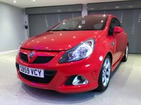 USED 2009 59 VAUXHALL CORSA 1.6 VXR 3d 192 BHP 1 OWNER + IMMACULATE CONDITION