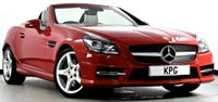 USED 2015 64 MERCEDES-BENZ SLK 2.1 SLK250 CDI BlueEFFICIENCY AMG Sport 7G-Tronic 2dr COMAND Nav, Heated Seats, DAB