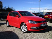 USED 2014 64 VOLKSWAGEN POLO 1.4 SE TDI BLUEMOTION 3d 74 BHP