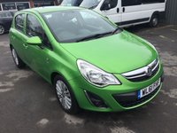 USED 2011 61 VAUXHALL CORSA 1.4 EXCITE  WITH A/C 5 DOOR 98 BHP IN BRIGHT METALLIC GREEN. APPROVED CARS ARE PLEASED TO OFFER THIS VAUXHALL CORSA 1.4 EXCITE WITH A/C 5 DOOR 98 BHP IN BRIGHT METALLIC GREEN WITH A BLACK CLOTH INTERIOR WITH A GREAT SPEC INCLUDING ABS,AIR/CON,ALLOYS CD,E/WINDOWS,C/LOCKING AND 2 KEYS WITH A FULL SERVICE HISTORY AN IDEAL SMALL RUNAROUND OR FIRST CAR.