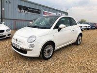 2013 FIAT 500 1.2 LOUNGE 3d 69 BHP £4990.00