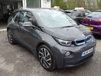 USED 2014 14 BMW I3 0.6 I3 E eDRIVE RANGE EXTENDER PLUG-IN HYBRID 5d AUTOMATIC 168 BHP Very Low Mileage! Boasting Full BMW Service History, Range Extender Plug-In Hybrid, Automatic, Superb fuel economy! Manufacturer Stated MPG = 471! ZERO Road Tax! FREE 12 month RAC Platinum Warranty Included (£1,000 Claim Limit / Unlimited Claims)