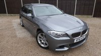 USED 2011 61 BMW 5 SERIES 2.0 525D M SPORT TOURING 5dr AUTO Media Pack, PDC, Climate