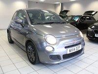 2014 FIAT 500 1.2 S 70 BHP 3d £5985.00