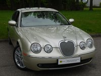 USED 2006 56 JAGUAR S-TYPE 2.7 V6 SE 4d 206 BHP LEATHER + TOUCH SCREEN SAT NAV + FJSH