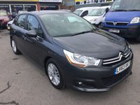 2013 CITROEN C4 1.6 E-HDI VTR PLUS EGS 5 DOOR AUTOMATIC 115 BHP IN GREY WITH 46000 MILES £6490.00