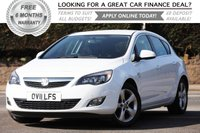USED 2011 11 VAUXHALL ASTRA 1.6 SRI 5d 177 BHP +++ FREE 6 months Autoguard Warranty included in screen price +++