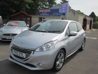USED 2013 13 PEUGEOT 208 1.6 ALLURE 3d 120 BHP TOUCH SCREEN MONITOR - DAB RADIO