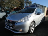 USED 2013 13 PEUGEOT 208 1.6 ALLURE 3d 120 BHP ELECTRIC / HEATED DOOR MIRRORS