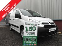 USED 2013 63 CITROEN DISPATCH 1.6 1000 L1H1 ENTERPRISE HDI  89 BHP 1 OWNER FROM NEW FSH 1 OWNER FROM NEW FULL SERVICE HISTORY