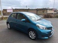 2013 TOYOTA YARIS 1.3 VVT-I TR 5d 98 BHP £SOLD