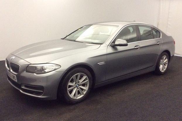 2013 63 BMW 5 SERIES 3.0 530D SE 4d AUTO 255 BHP