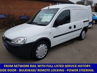 USED 2010 VAUXHALL COMBO 2000 1.3 CDTi Direct From Network Rail