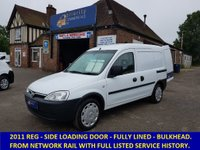2011 VAUXHALL COMBO 2000 1.3 CDTi Direct From Network Rail £3295.00