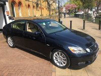 USED 2005 05 LEXUS GS 3.0 300 SE 4d AUTO 245 BHP FULL SPEC INCLUDING TOUCH SCREEN NAV, CAMERA, FULL LEATHER,