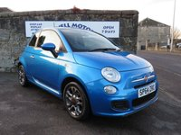 2014 FIAT 500 1.2i S S/S - 2014 (64 plate) £6400.00